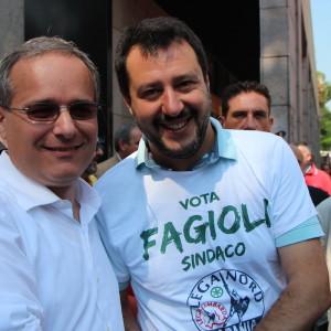 Salvini e Fagioli